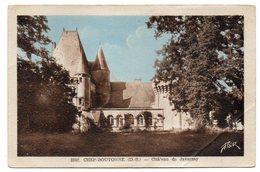 CHEF-BOUTONNE --1950 -- Chateau De Javarzay - Chef Boutonne