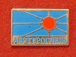 PIN'S  ASPTT POITIERS - Postes
