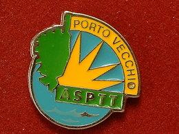 PIN'S  ASPTT PORTO VECCHIO - CORSE - Postes