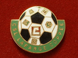 Pin's TP - BTP - CSL LAFARGE COPPEE - FOOTBALL - EMAIL - Football