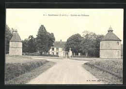 CPA Senlisse, Entrée Du Chateau - Francia
