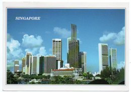 SINGAPORE-THE COMMERCIAL DISTRICT OF SINGAPORE / THEMATIC STAMPS-TOURISM - Singapore