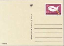 UNO GENF, Postkarte P 6, Ungebraucht *, Friedenstaube 1985 - Briefe U. Dokumente