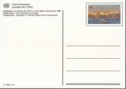 UNO GENF, Postkarte P 8, Ungebraucht *, Palais Des Nations 1992 - Briefe U. Dokumente