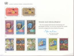 UNO WIEN, Erinnerungskarte EK 24, UNCTAT 1983 - Briefe U. Dokumente
