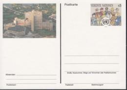 UNO WIEN, Postkarte P 6, Ungebraucht *, Völker Der Erde 1993 - Briefe U. Dokumente