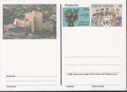 UNO WIEN, Postkarte P 8, Ungebraucht *, Mit Zusätzlichem Wertstempel 1993 - Briefe U. Dokumente