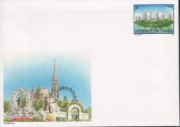 UNO WIEN, Umschlag U 1, Ungebraucht *, UNO-Zentrum 1995 - Briefe U. Dokumente