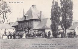 619 Havay Ferme De Beauvoir A M A Derbaix Avant Le Depart Aux Champs - Bélgica