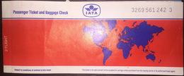 IATA Cyprus Turkish Airlines Ticket Turkey 1992 - Billetes De Transporte