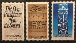 VENDA - MNH** - 1990 - # 209/212 - Venda