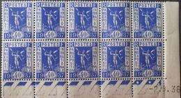 R1615/517 - 1936 - PROPAGANDE POUR L'EXPOSITION INTERNATIONALE De PARIS - BLOC N°324 TIMBRES NEUFS** CdF Daté - 1930-1939