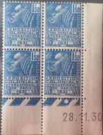 R1615/521 - 1930 - EXPOSITION COLONIALE INTERNATIONALE De PARIS - BLOC N°273 TIMBRES NEUFS** CdF Daté - Cote : 150 € - 1930-1939