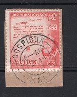3d Value QEII MALTA Postally Used Stamps On Paper FROM COSPICUA, Dated February 14 1958 - Malte (...-1964)