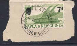 7d Value PAPUA NEW GUINEA Postally Used Stamp On Paper, Postmarked LAE, 13 DEC --- - Papouasie-Nouvelle-Guinée