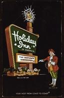 New Jersy  -  Fort Wayne  -  Holiday Inn Hotel  -  Ansichtskarte Ca.1969   (11688) - Fort Wayne
