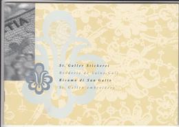 Switzerland / 2000 Embroidery Stamps - Switzerland