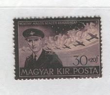 HUNGARY 1943 Stephen Horthy-Natl. Aviation Fund, Scott Catalogue No(s). B170 - Hungary
