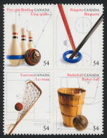 Canada (Scott No.2338 - Inventions Canadiennes Sport / Canadian Invention) [**] Autocolland Self Adhesive - 1952-.... Règne D'Elizabeth II