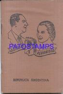 117175 ARGENTINA ENTRE RIOS PERONISMO POLITICA LIBRETA NO POSTAL POSTCARD - Other