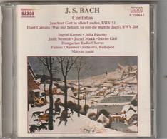 Cd  BACH   Cantatas BWV  51 ET 208  Etat: TTB Port 110 GR - Klassik