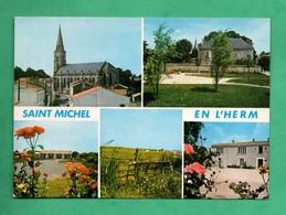 85 Vendée  Saint Michel En L ' Herm Carte Postale Multivues - Saint Michel En L'Herm