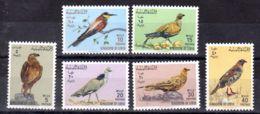 16.2.1965; Vögel; Mi-Nr. 178 - 183; Postfrisch, Los 51540 - Libyen