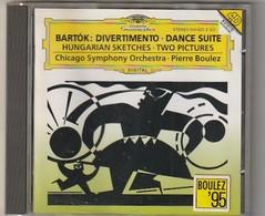 """Cd  BARTOK  """" Rare """" Divertimento   Dance Suite PIERRE BOULEZ    Etat: TTB Port 110 GR - Classical"""