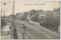 Hasselt - Panorama De La Gare (Statie - Station) 1911 - Hasselt