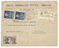 20615 - GENOVA Pour La France - 1900-44 Vittorio Emanuele III