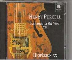 Cd HENRY PURCELL  Fantasias For Viols   Etat: TTB Port 110 GR - Klassik