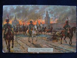 Guerre De L'année Incendie Moscou Moment Du Retrait De L'armée De Napoléon Singer - Other Wars
