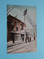 """TYPICAL CANADIAN WINTERSCENE """" After A Fire """" ( Edit. Illust. Post Card C° - 4004 ) Anno 19?? ( Zie Foto Details ) ! - Montreal"""