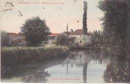 BAC19- SALORNAY SUR GUYE MOULIN DE LA CLOCHETTE   CPA  CIRCULEE - Frankrijk