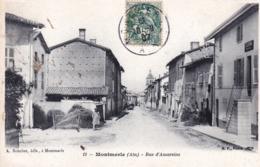 01 - Ain -  MONTMERLE -  Rue D Amareins - Francia