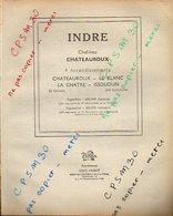 ANNUAIRE - 36 - Département Indre - Année 1947 - édition Didot-Bottin - 76 Pages - Annuaires Téléphoniques