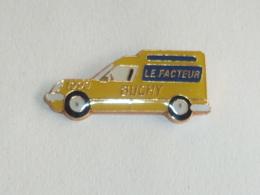 Pin's CAMIONETTE DU FACTEUR DE BUCHY - Postes