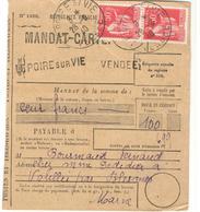 20627 - LA  POIRE SUR VIE - Storia Postale
