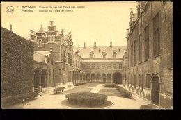 Malines Mechelen Binnenzicht Van Het Palais Van Justitie Intérieur Du Palais De Justice Flion - Mechelen