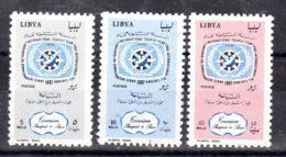 1.6.1967; Jar Des Trousimus, Mi-Nr. 236 - 238; Postfrisch, Los 51553 - Libyen