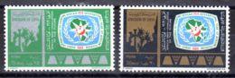 1.7.1969; Internationales Afrikanische Tourismusjahr, Mi-Nr. 282 + 283, Postfrisch, Los 51567 - Libyen