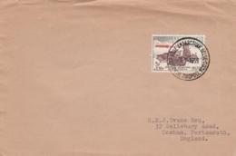 Belgique - 3e Expédition Antarctique 1958-1959 - N°1030 Càd Base Roi Baudouin 03/01/1959 Pour Portsmouth - Bases Antarctiques