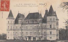 Cp , 79 , AIRVAULT , Le Château De Soulièvre , Façade Principale - Airvault