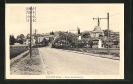 CPA Rillieux, Route De Strasbourg - France
