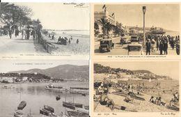 Lot N° 93 - 100 Cartes Du Département Des Alpes Maritimes (06) Plages, Villes, Villages, Carnaval, Quelques Animations - 100 - 499 Postcards