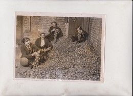 BRITTANY ONION VENDERS IN LONDON +- 20*15CM  Fonds Victor FORBIN (1864-1947) - Métiers