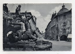 Trento - Piazza  C. Battisti - Fontana Del Nettuno - Viaggiata Nel 1966 - (FDC16425) - Trento