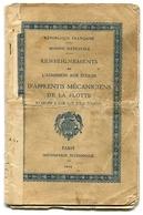 Ecoles D'apprentis Mécaniciens De La Flotte établies à Lorient Et à Toulon 1929 - Old Paper