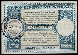 MEXICO / MEXIQUE Lo15 45 CENTAVOSInternational Reply Coupon Reponse Antwortschein IAS IRC O MERIDA 5.9.59 - Mexiko