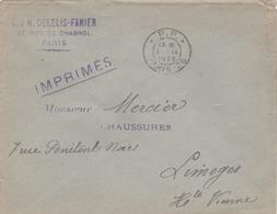 T. à D.  PARIS 26 * P.P. * (TTB) - Poststempel (Briefe)